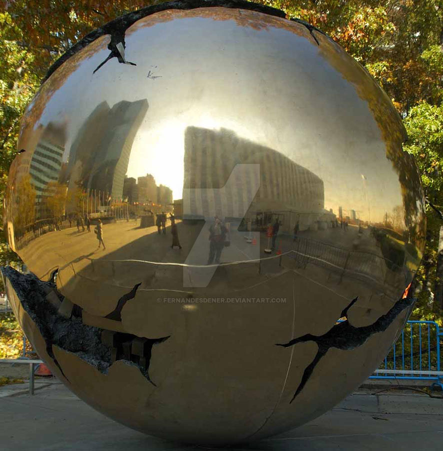 Chicago metal ball by fernandesdener