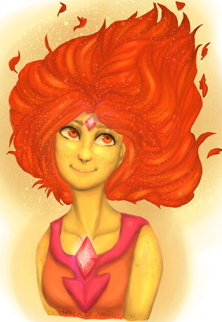 [Adventure Time] Flame Princess by Sesemonda