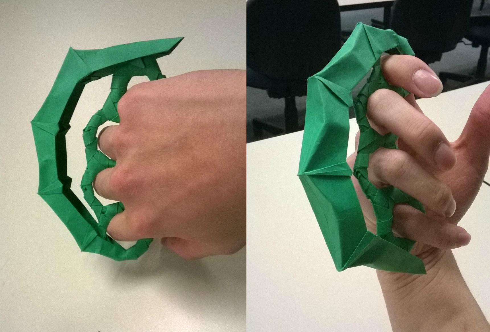 origami custom knuckle by xizh on deviantart