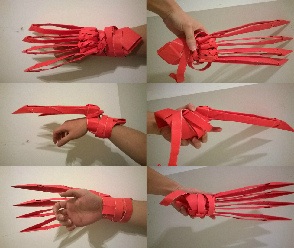 Origami Customized Arm Claw Actual Size By Xizh