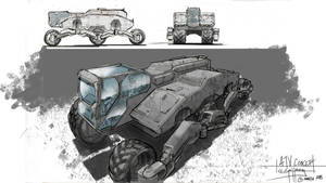 Vehicle concept/ Line weight practice by sitac01
