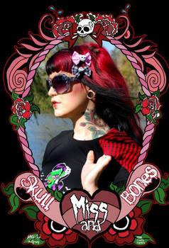 Miss Skull n Bones Modeling 3