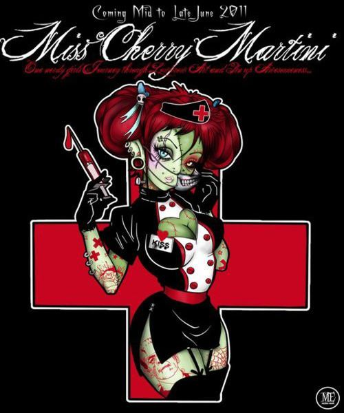 Miss Cherry Martini Artbook Cover by Miss-Cherry-Martini