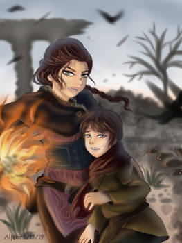 Amicia and Hugo (A Plague Tale Innocence)