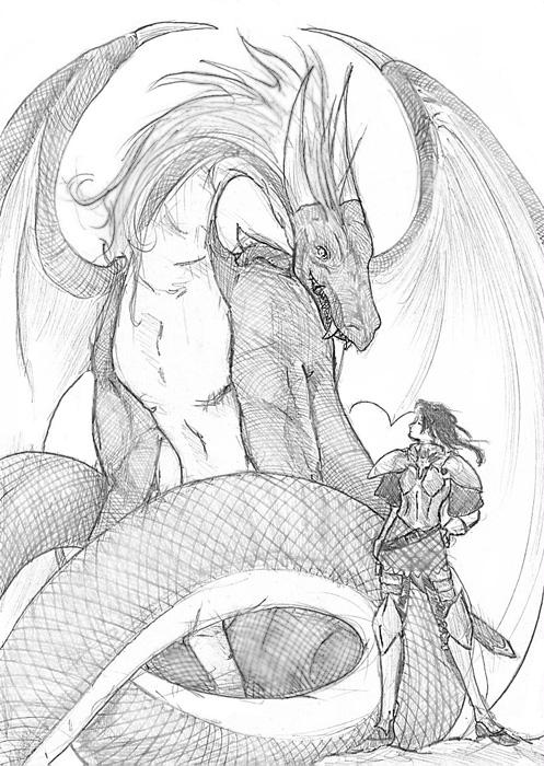 Rider and Dragon