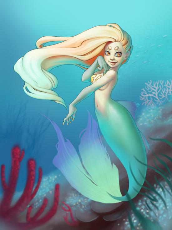 Mermaid by omgdance