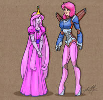 Princess Bubblegum Crisis by massgrfx