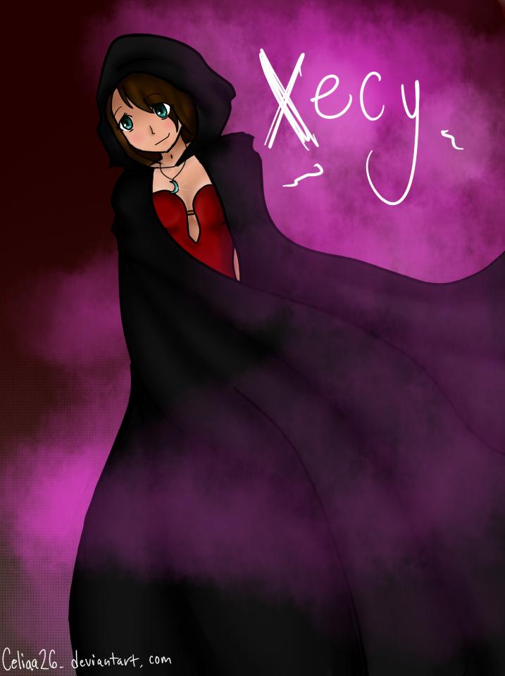 Xecy- witch by celiaa26