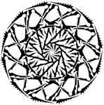 Chaotic ripple