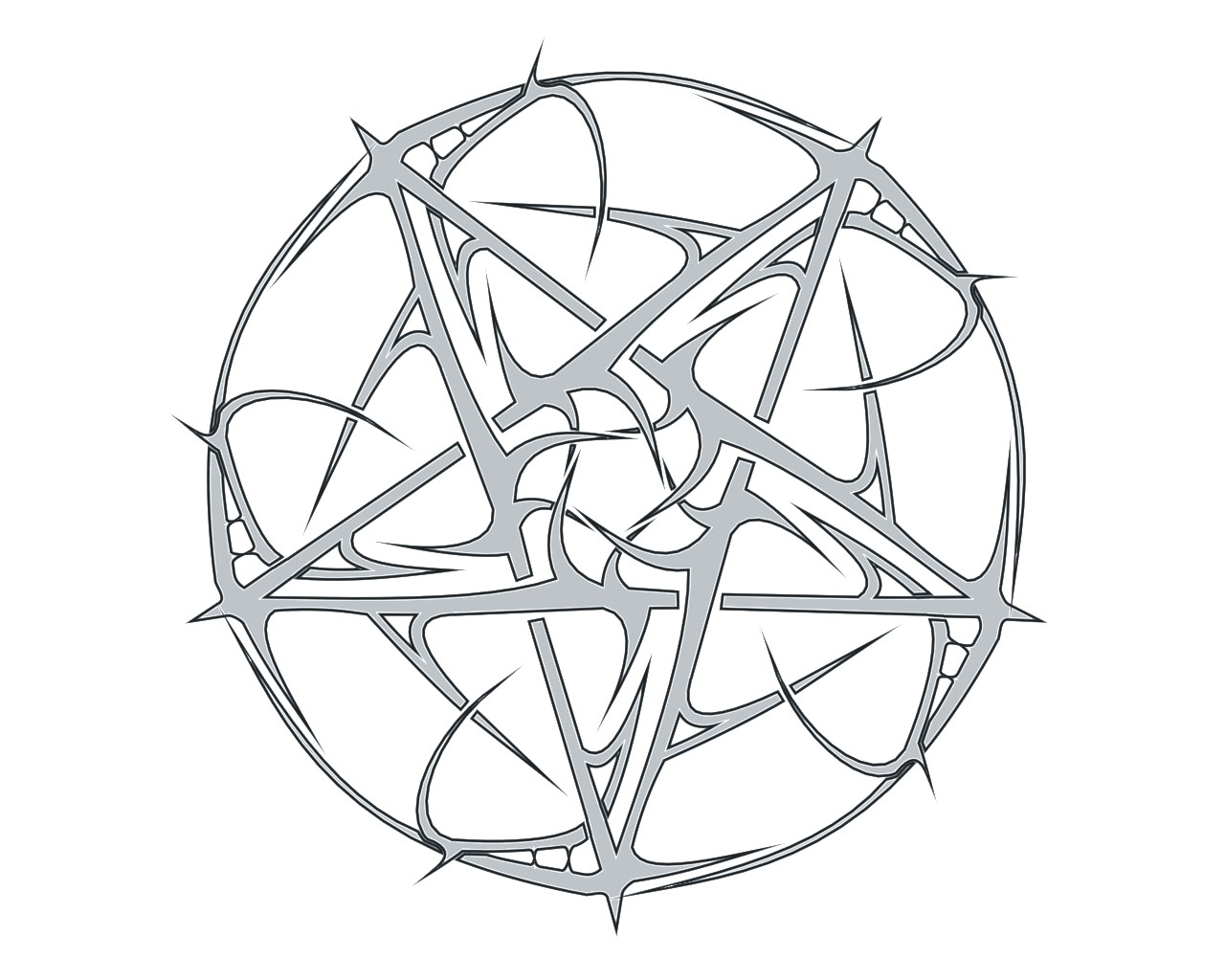 Just another pentagram