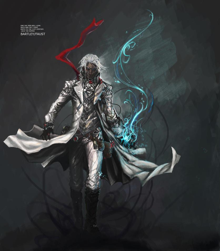 Bartley, Villain Progress by django-red