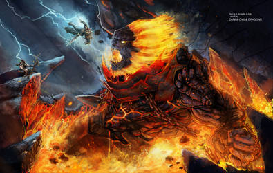The Molten God Vanquished