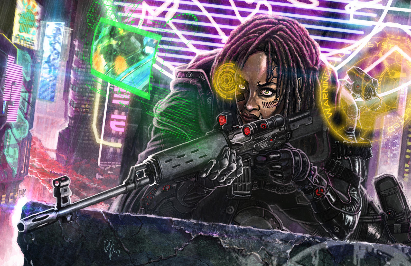 Assassin's Primer Cover Art by django-red