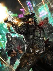 SR5 Cover Art: Hard Targets