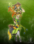 RHARDOZED Green-witch by rhardo