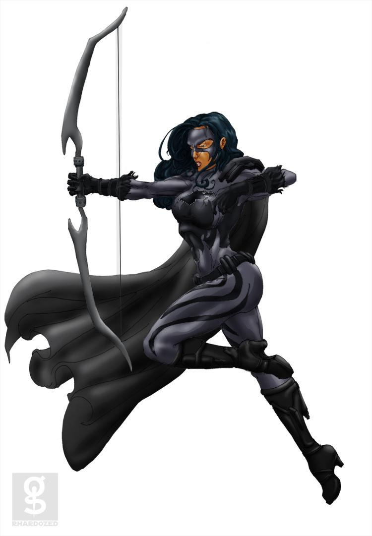 $20 Commish: Gray Huntress by rhardo