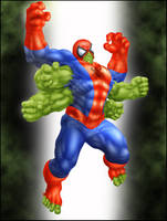 Commish 199: Spider-hulk by rhardo