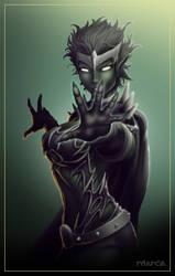 Commish 278: Goblin Queen by rhardo