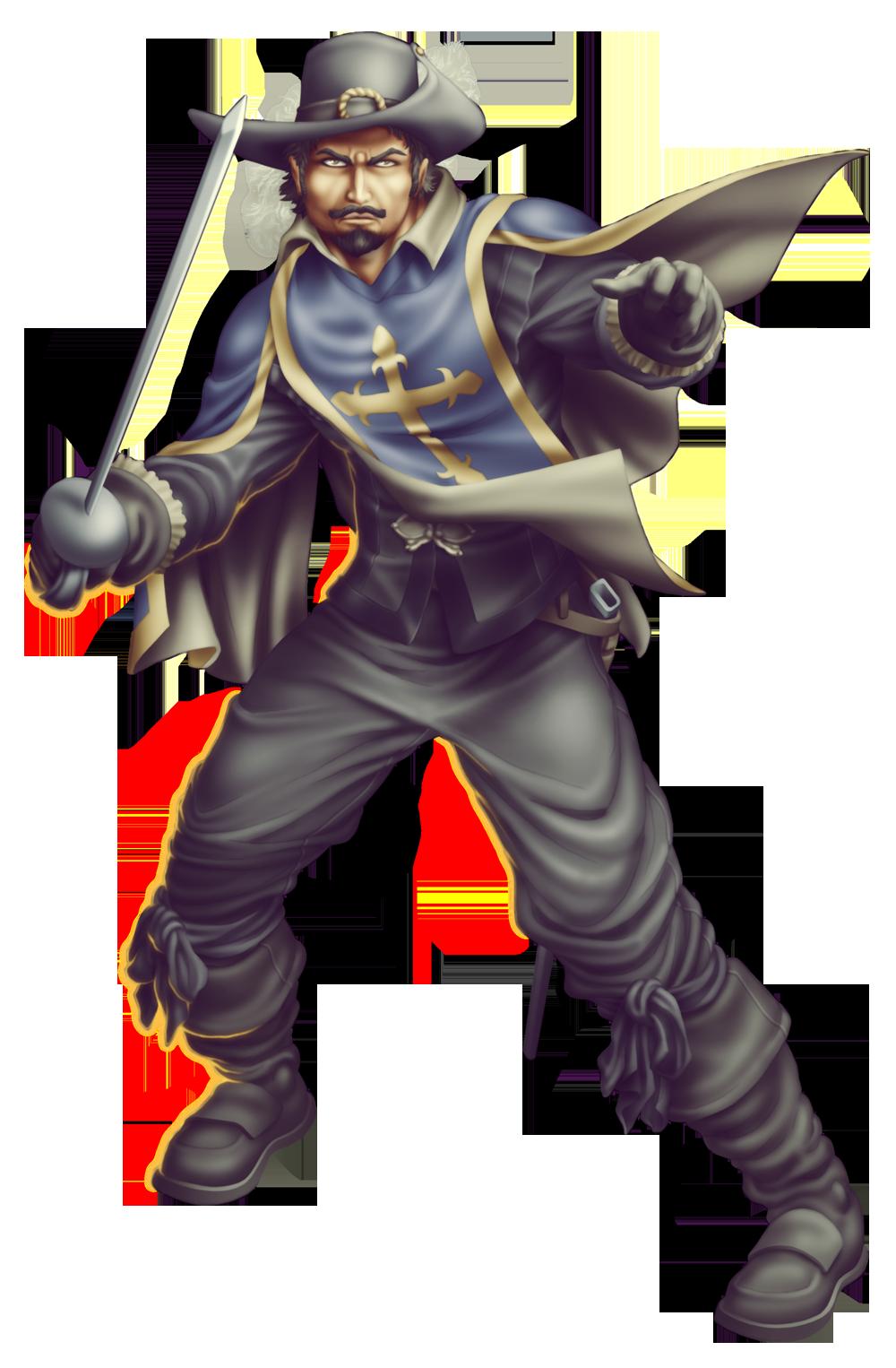 Commish 387: Musketeer by rhardo