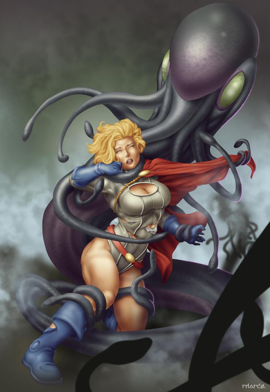 Commish 393: Power Girl by rhardo