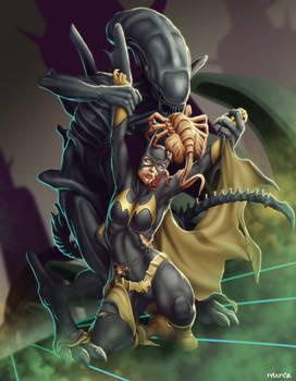 Commish 440: Alien VS Batgirl