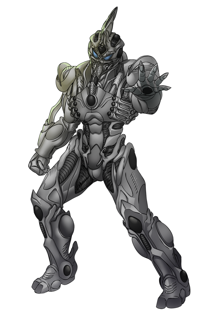 Commish 466: Prometheus Guyver by rhardo