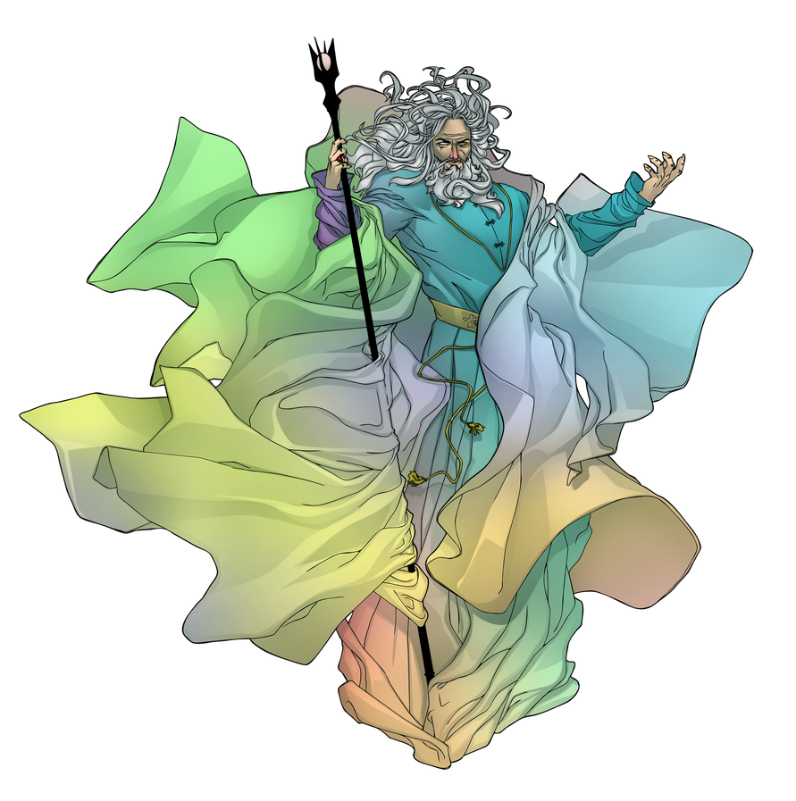 Commish 474: Saruman of Many Colours by rhardo