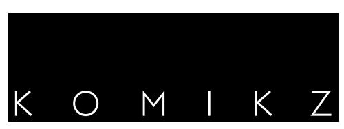 rhardo KOMIKZ logo by rhardo