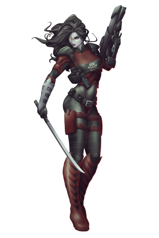 Commish 489: Meta-Huntress by rhardo