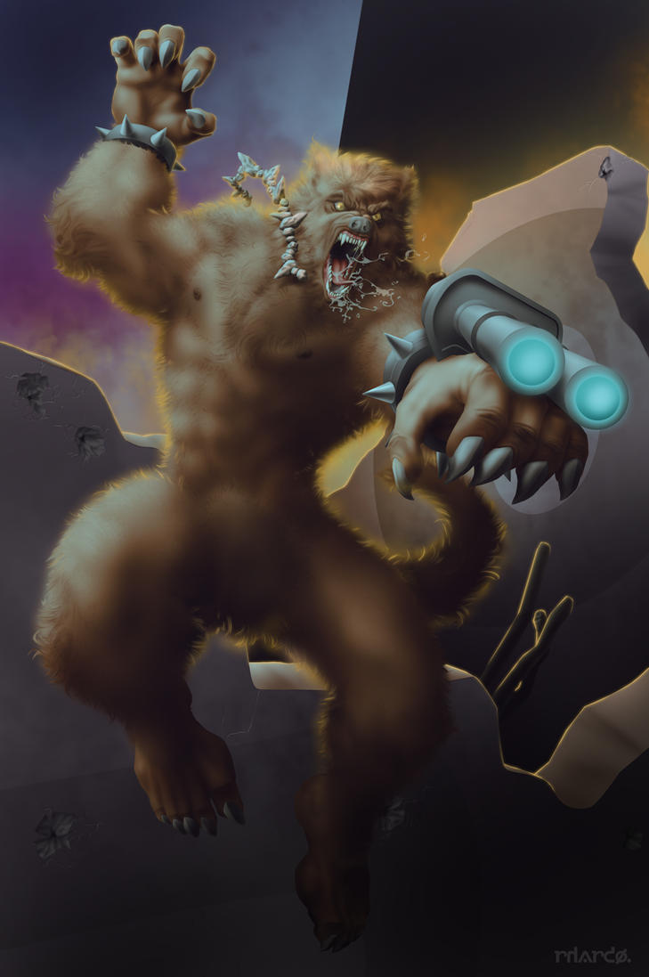 Commish 490: Worgewolf by rhardo