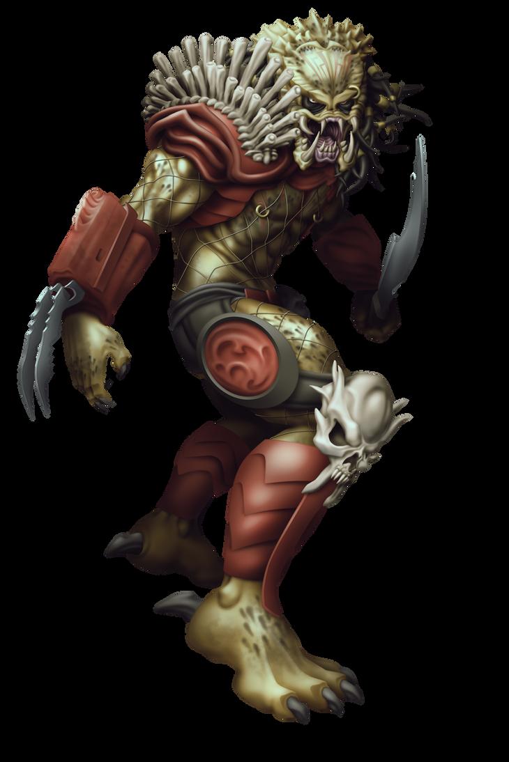 Commish 491: Predator - Bad Blood by rhardo