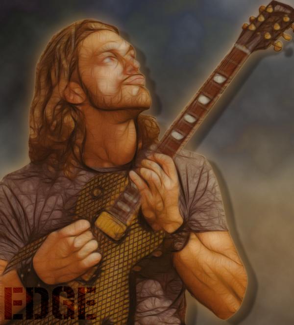 Edge Guitarist by TarghanM