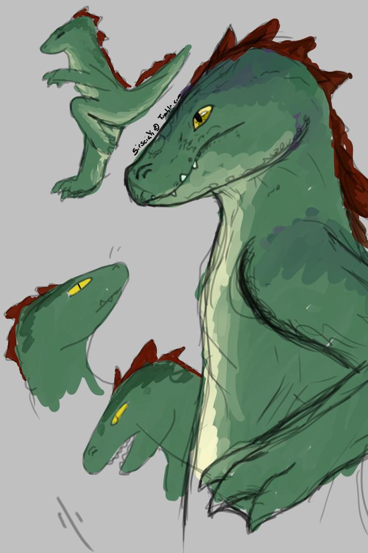 Gator by Wolfdragon108