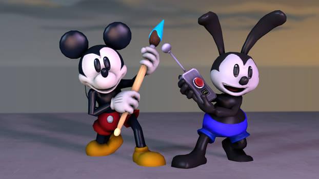 (SFM) My Epic Mickey Models test