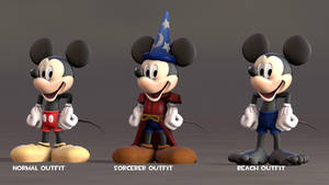 (SFM) My Mickey mouse Custom Outfits