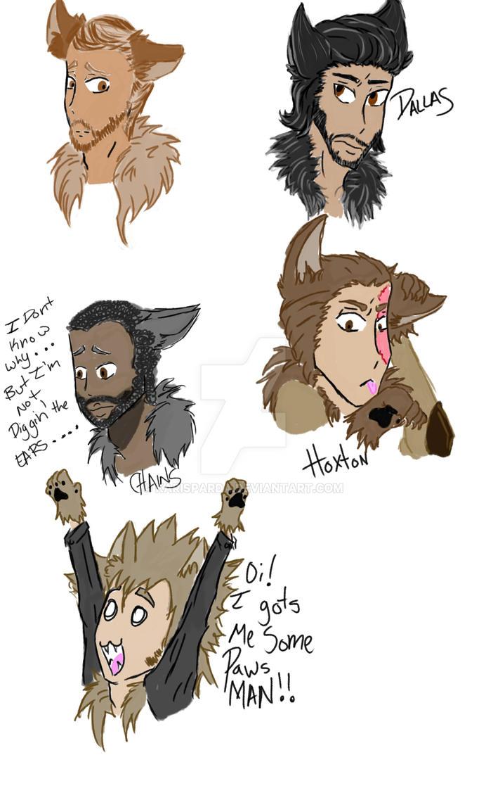 Paday wolvies by KariSparda