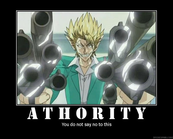 Hiruma - Athority by Coreyninja