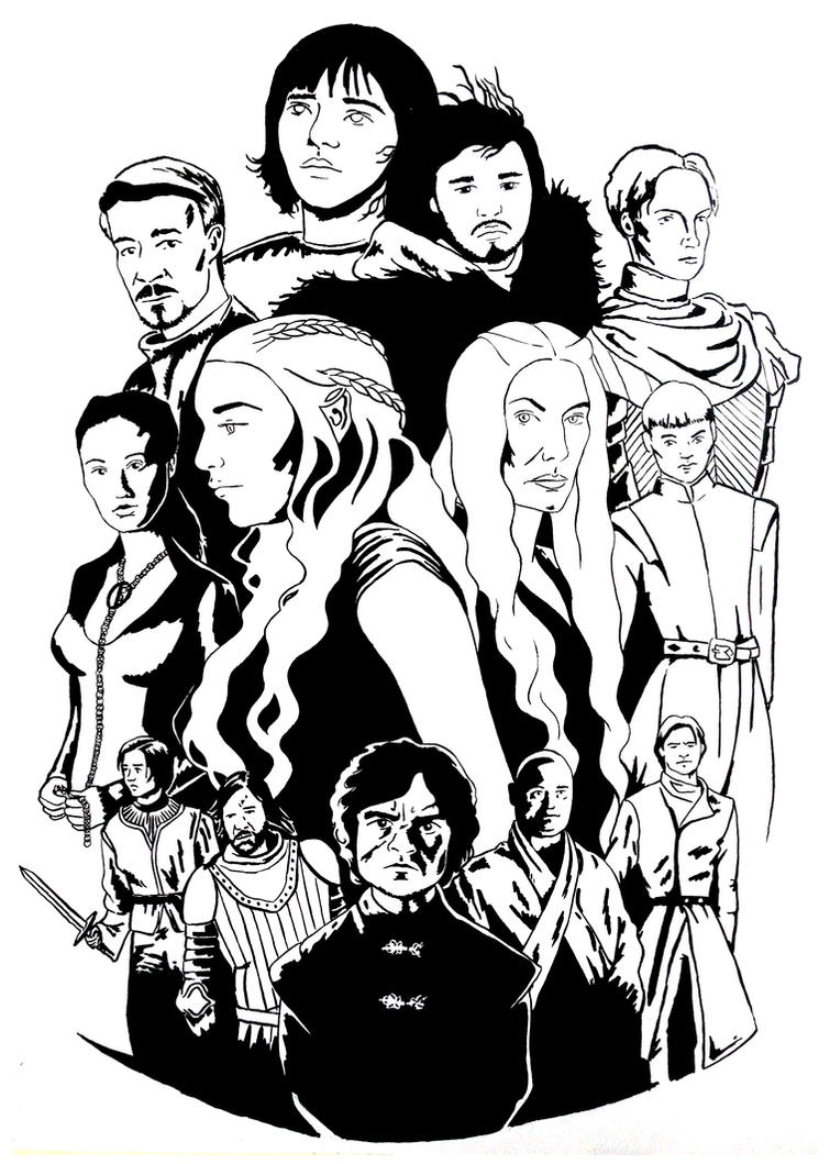 D Line Drawing Game : Game of thrones by homosuperiors on deviantart