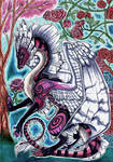 FR : Dragoness named Artemon by RiavaCornelia