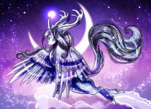 Cornelia the alicorn by RiavaCornelia