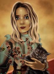 Me and Barbie by RiavaCornelia