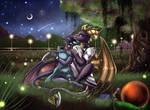 Gift: Cynder and Spyro