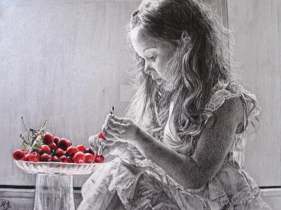 Cherries by zeldis
