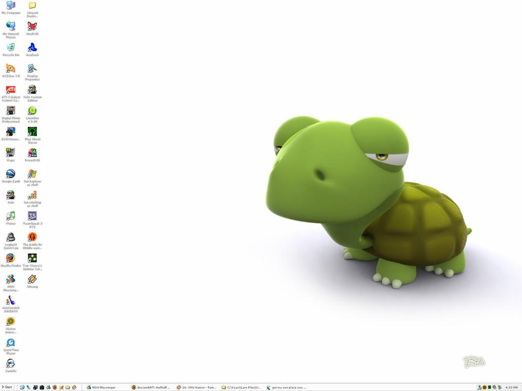 My Desktop v4 by Hellhuff