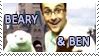 Beary and Ben Stamp