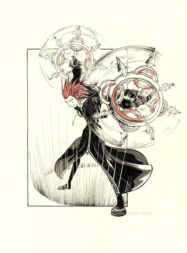 +Kingdom Hearts+ Axel by Yakra