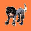 Naruto- Animated Pixel Kiba by rir