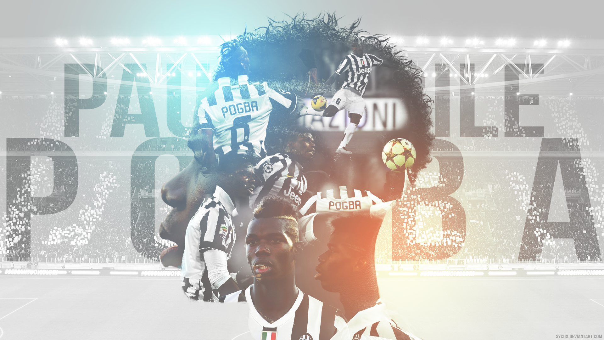 [Wallpaper] Paul Pogba By Syciix On DeviantArt
