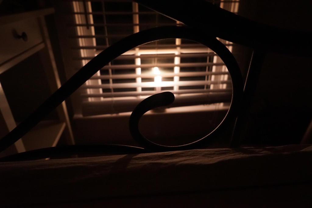 Candle in the window by Deanna64