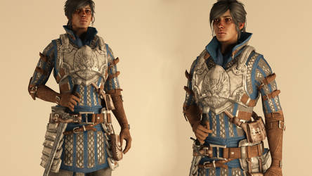 Warden-Commander Cousland -  Armor Outfit